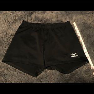 Mizuno spandex shorts